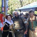 The Seanchai Storytellers at a Highland festival in Central Florida