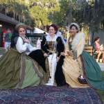 Seanchai Storytellers at the Highland Festival in Mount Dora, Florida
